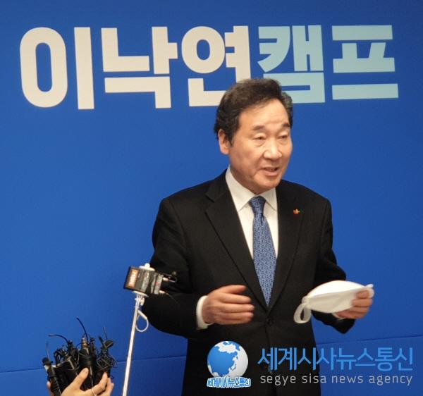 더불어민주당 이낙연 당 대표 후보  SNS 선거운동, 온라인으로 전국 순회