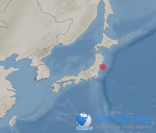 [속보] 일본 후쿠시마 규모 7.1 지진…도쿄에서도 강한진동 느껴져...쓰나미 우려 없어
